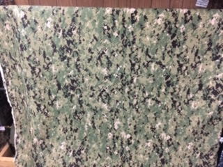 US Navy NWU Type III - Green Digital Fabric